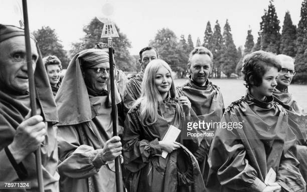7th August 1970 Royal National Eisteddfod Ammanford Welsh folk singer Mary Hopkin is made a Bard for an outstanding contribution to Welsh cultural...