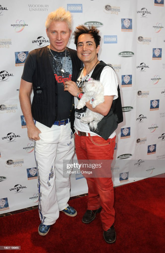 Personalities Patrick Simpson and Pol A'tteu arrive for The Burbank Film Festival - Closing Night Gala Dinner and Awards Ceremony held at Castaways on September 8, 2013 in Burbank, California.