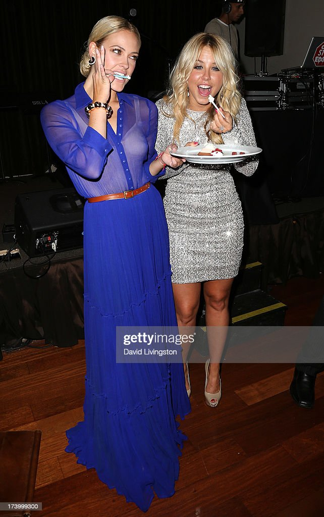 TV personalities <a gi-track='captionPersonalityLinkClicked' href=/galleries/search?phrase=Peta+Murgatroyd&family=editorial&specificpeople=6824437 ng-click='$event.stopPropagation()'>Peta Murgatroyd</a> (L) and <a gi-track='captionPersonalityLinkClicked' href=/galleries/search?phrase=Chelsie+Hightower&family=editorial&specificpeople=5775836 ng-click='$event.stopPropagation()'>Chelsie Hightower</a> attend the <a gi-track='captionPersonalityLinkClicked' href=/galleries/search?phrase=Chelsie+Hightower&family=editorial&specificpeople=5775836 ng-click='$event.stopPropagation()'>Chelsie Hightower</a> and <a gi-track='captionPersonalityLinkClicked' href=/galleries/search?phrase=Peta+Murgatroyd&family=editorial&specificpeople=6824437 ng-click='$event.stopPropagation()'>Peta Murgatroyd</a> Charity Birthday Party on July 18, 2013 in Los Angeles, California.
