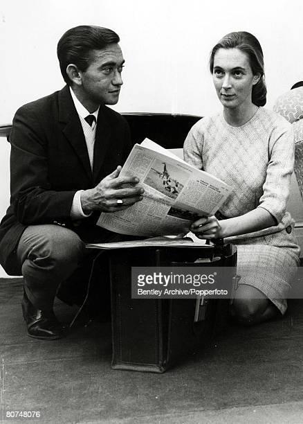 5th March 1964 Jane Goodall wuth her husband Baron Hugo Van Lawick