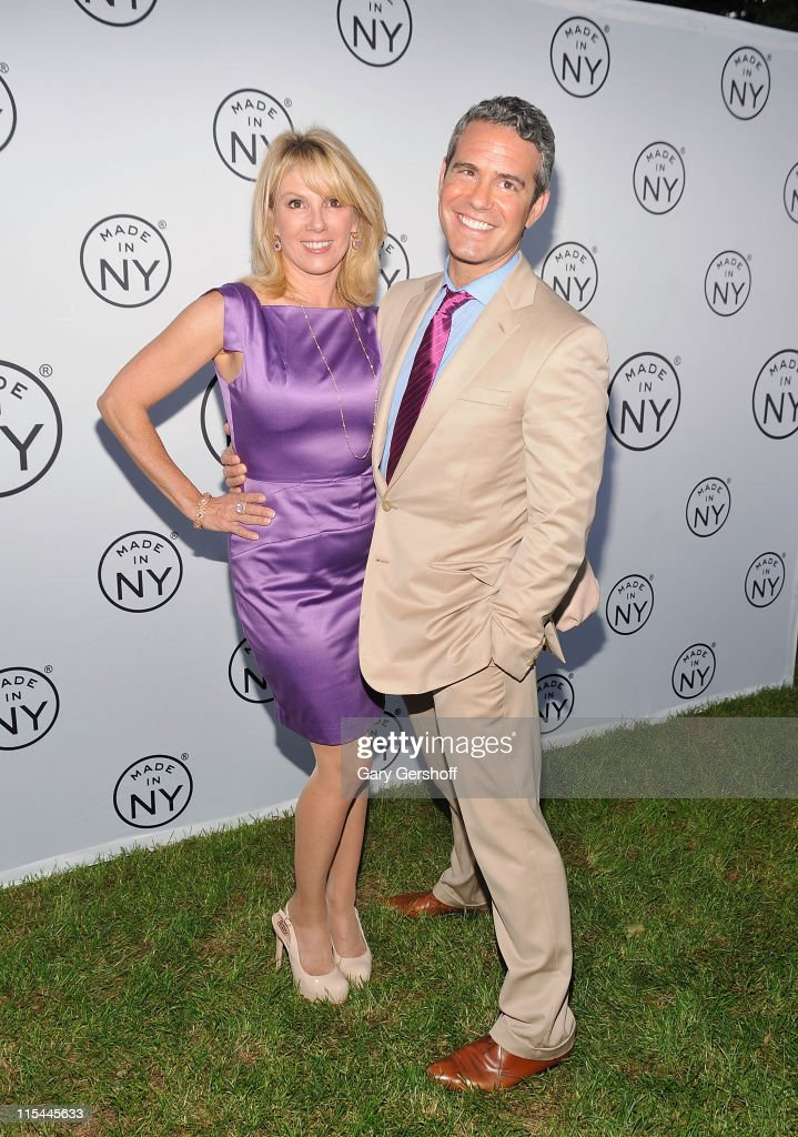 TV personalities Ramona Singer (L) and Andy Cohen attend the 6th annual Made In NY awards at Gracie Mansion on June 6, 2011 in New York City.