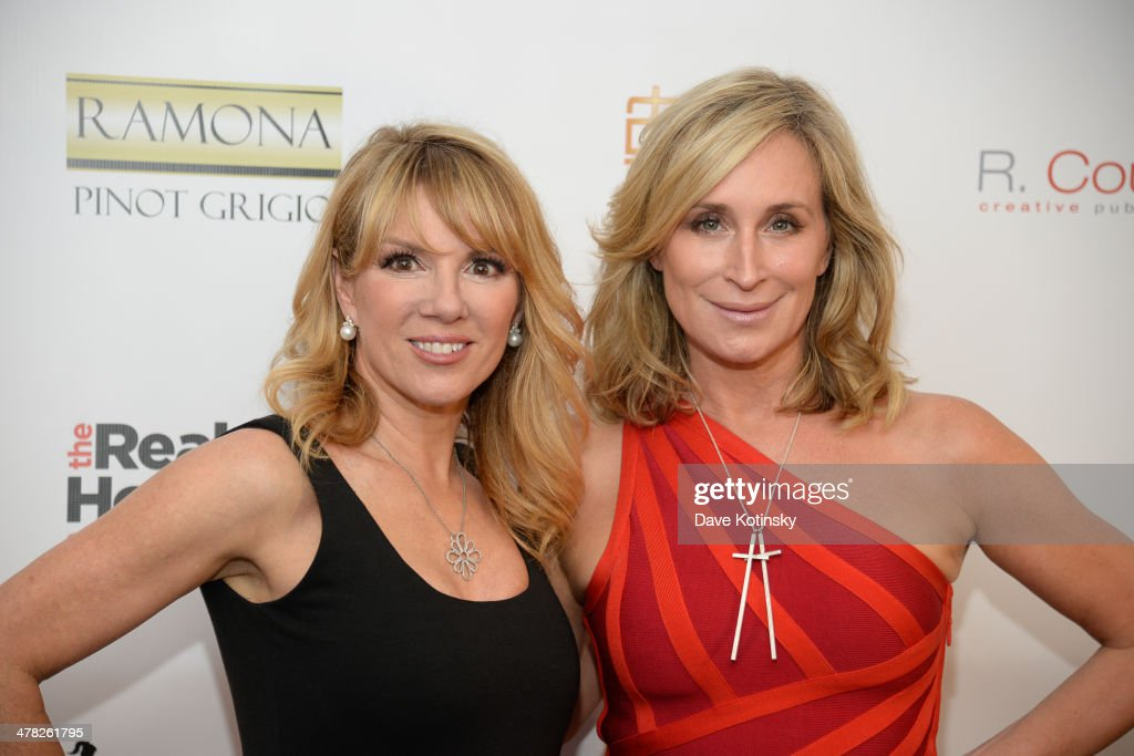 TV personalities <a gi-track='captionPersonalityLinkClicked' href=/galleries/search?phrase=Ramona+Singer&family=editorial&specificpeople=4949817 ng-click='$event.stopPropagation()'>Ramona Singer</a> (L) and <a gi-track='captionPersonalityLinkClicked' href=/galleries/search?phrase=Sonja+Morgan&family=editorial&specificpeople=6346743 ng-click='$event.stopPropagation()'>Sonja Morgan</a> attend the 'The Real Housewives Of New York City' season six premiere party at Tokya on March 12, 2014 in New York City.
