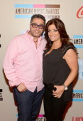 TV personalities Richie Wakile and Kathy Wakile attend the American Music Awards Bowling For Charity Event hosted by Lance Bass at Lucky Strike at LA...