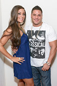 TV personalities Sammi Giancola and Ronnie Ortiz Magro attend the Sammi Sweetheart 2013 Style 360 Fashion show at Style 360 at Met Pavilion on...
