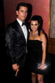 TV personalities Scott Disick and Kourtney Kardashian attend A Night of Style Glamour to welcome newlyweds Kim Kardashian and Kris Humphries at...