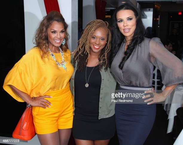 TV personalities Sheree Fletcher Torrei Hart and Shamicka Lawrence attending VH1's 'Hollywood Exes' Premiere Screening Party at Philippe Chow on May...