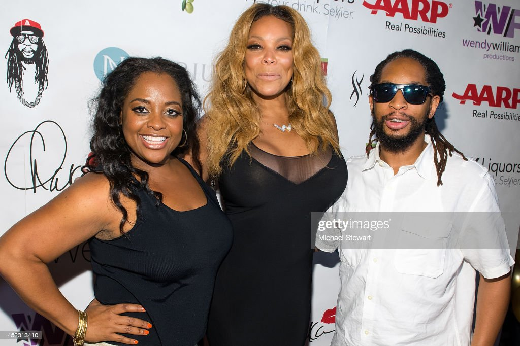 TV personalities Sherri Shepherd, Wendy Williams and rapper Lil Jon attend Wendy Williams' 50th Birthday Party at 42West on July 17, 2014 in New York City.
