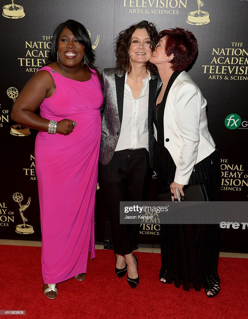 TV personalities Sheryl Underwood, Sara Gilbert and Sharon Osbourne attend The 41st Annual Daytime Emmy Awards at The Beverly Hilton Hotel on June 22, 2014 in Beverly Hills, California.