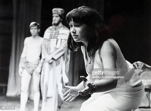 6th September 1965 British actress Helen Mirren acclaimed film and stage actress pictured when she was appearing at the Old Vic London in the role of...