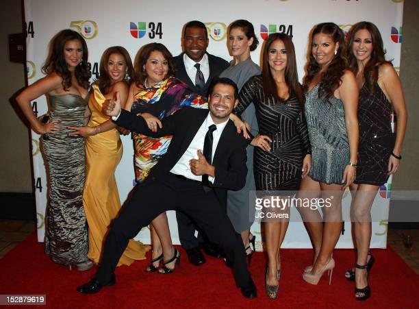 TV Personalities Stephanie Bradford Stephanie Himonidis Magaly Ortiz Carlos Alvarez Daniela Ganoza Jackie Guerrido Fernanda Kelly Ninnette Rios and...