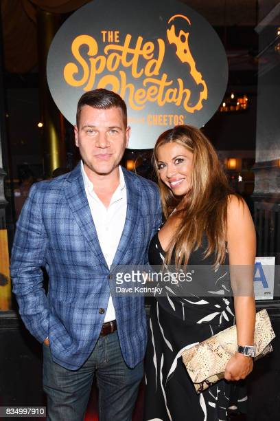 TV personalities Tom Murro and Dolores Catania attend as Cheetos Brand and Chester Cheetah open the firstever Cheetos restaurant The Spotted Cheetah...