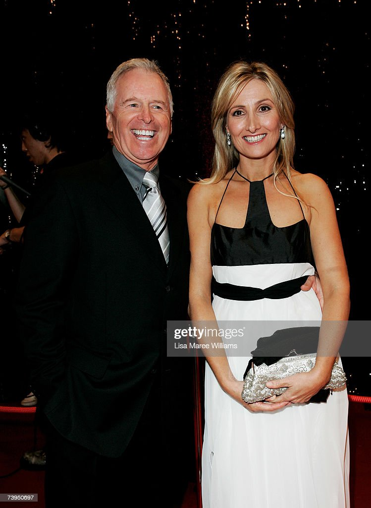 TV personalities Tony Barber and Alyce Platt arrive at the ASTRA Awards 2007 the 5th annual Australian Subscription Television and Radio Association...
