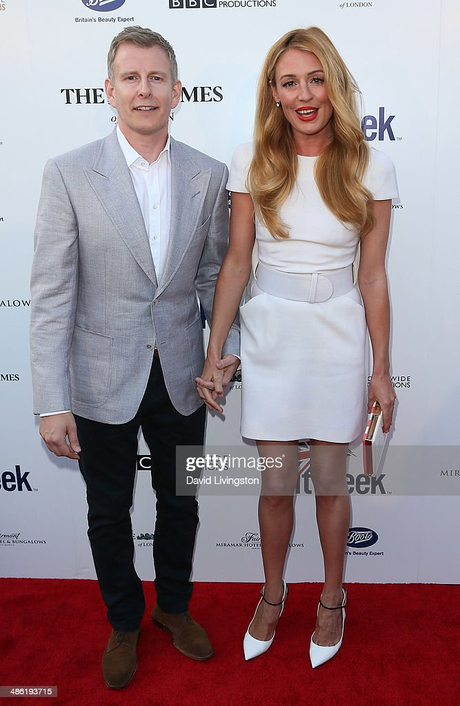 TV personalities/husband & wife Patrick Kielty (L) and Cat Deeley attend the 8th Annual BritWeek Launch Party on April 22, 2014 in Los Angeles, California.