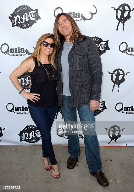 TV personalities/reality star Brandi Passante and actor James Mitchell attend the Premiere Party For 'Storage Wars' Season 4 held at Now and Then...