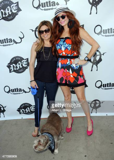 TV personalities/reality stars Brandi Passante and Phoebe Price attend the Premiere Party For 'Storage Wars' Season 4 held at Now and Then Thrift...