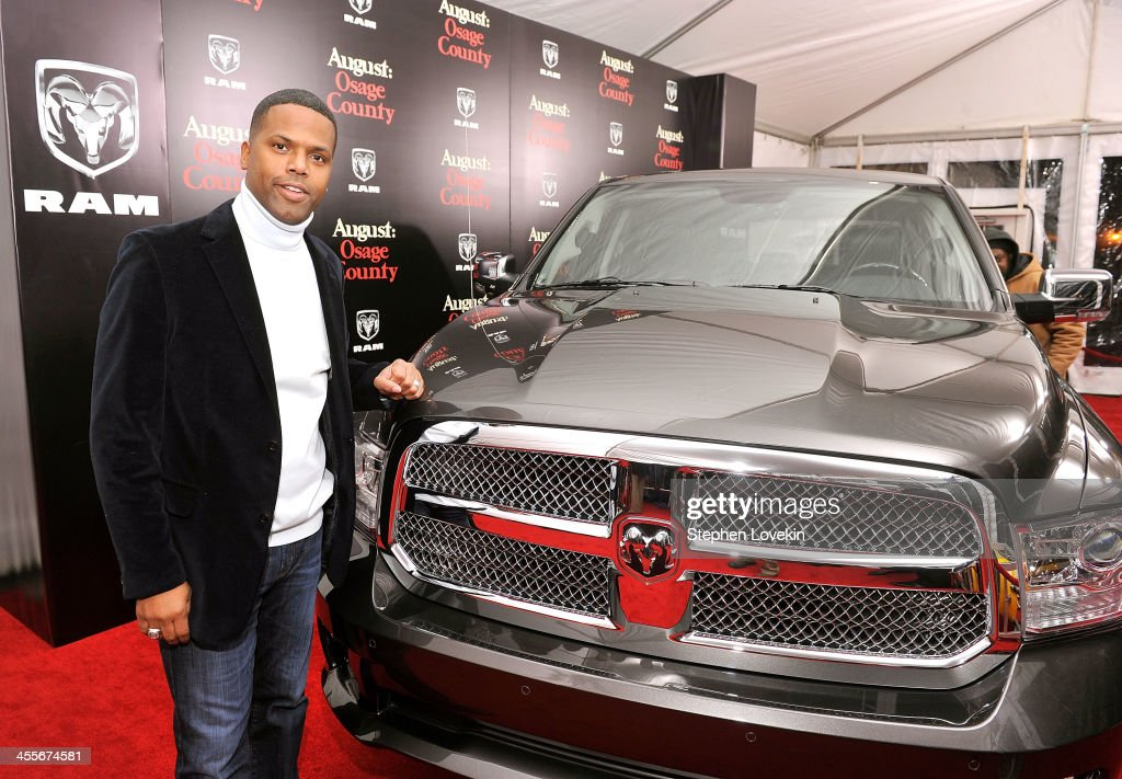 TV Personality A. J. Calloway attends 'August: Osage County' New York City premiere sponsored by Ram at Ziegfeld Theatre on December 12, 2013 in New York City.