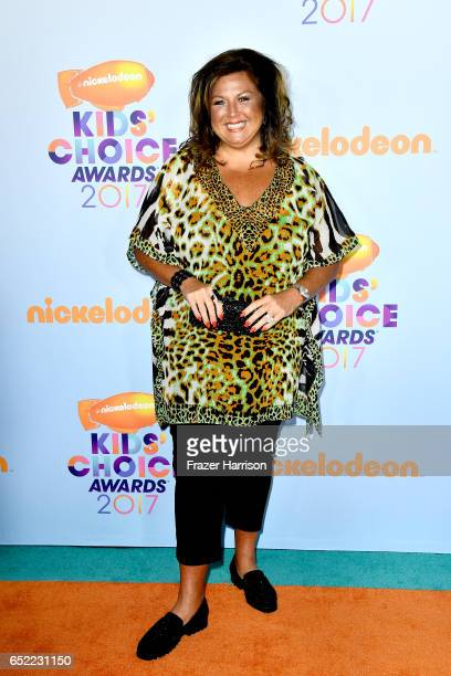 TV personality Abby Lee Miller at Nickelodeon's 2017 Kids' Choice Awards at USC Galen Center on March 11 2017 in Los Angeles California
