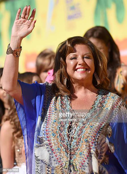 TV personality Abby Lee Miller attends Nickelodeon's 28th Annual Kids' Choice Awards held at The Forum on March 28 2015 in Inglewood California