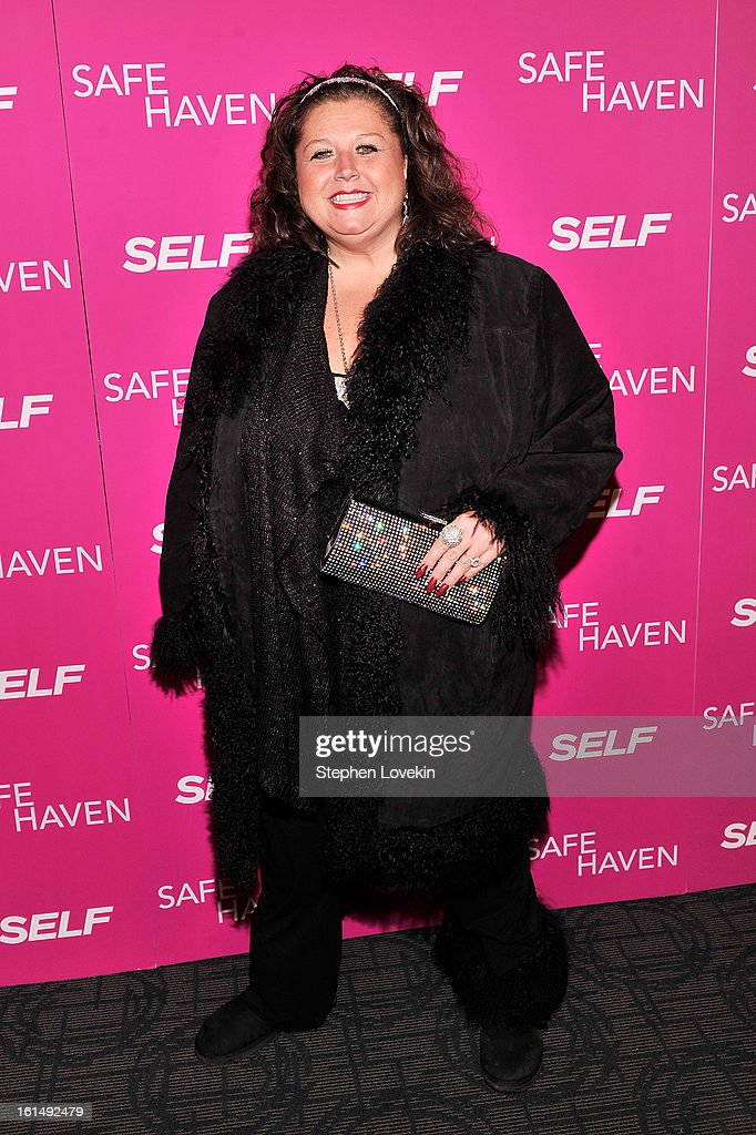 TV personality <a gi-track='captionPersonalityLinkClicked' href=/galleries/search?phrase=Abby+Lee+Miller&family=editorial&specificpeople=8753575 ng-click='$event.stopPropagation()'>Abby Lee Miller</a> attends SELF Magazine and Relativity Media's special New York screening of 'Safe Haven' at Landmark Theatres Sunshine Cinema on February 11, 2013 in New York City.