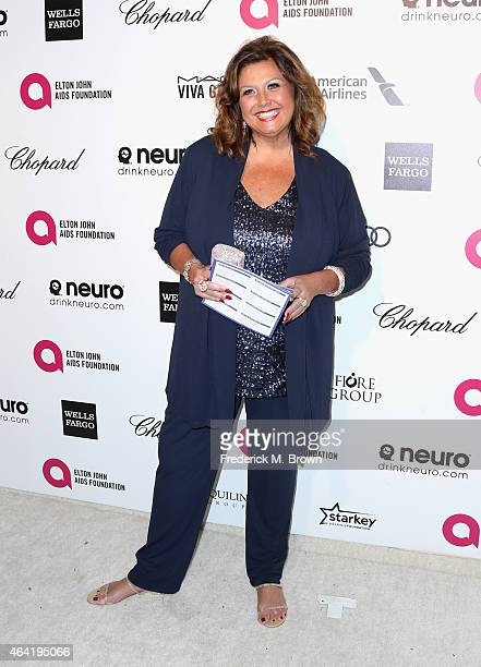TV personality Abby Lee Miller attends the 23rd Annual Elton John AIDS Foundation's Oscar Viewing Party on February 22 2015 in West Hollywood...