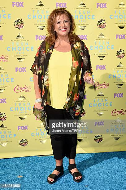 TV personality Abby Lee Miller attends the Teen Choice Awards 2015 at the USC Galen Center on August 16 2015 in Los Angeles California