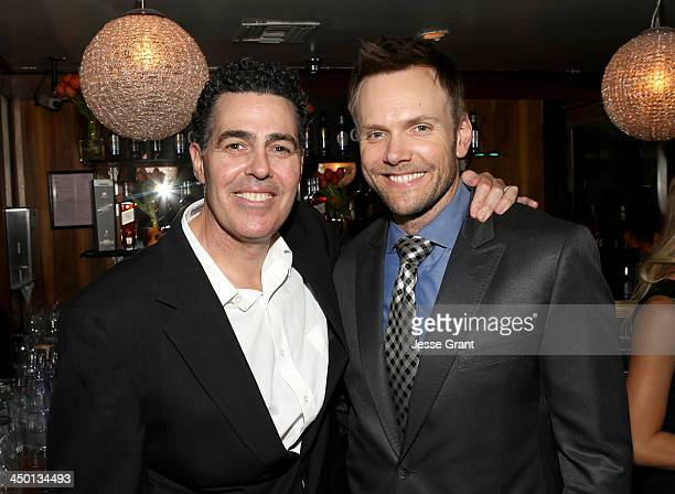 TV personality Adam Carolla and actor Joel McHale attend Variety's 4th Annual Power of Comedy presented by Xbox One benefiting the Noreen Fraser...