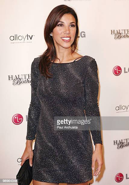 Personality Adriana Costa arrives at the 'Haute And Bothered' Season 2 Launch Party at Thompson Hotel on May 10 2010 in Beverly Hills California
