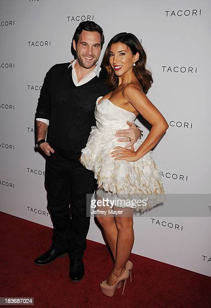 TV personality Adrianna Costa and Scott Gorelick attend the Tacori's Annual Club Tacori 2013 Event at Greystone Manor Supperclub on October 8 2013 in...