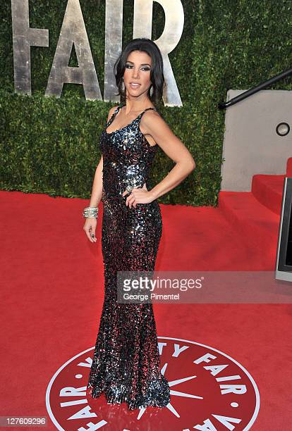 TV Personality Adrianna Costa arrives at the Vanity Fair Oscar party hosted by Graydon Carter held at Sunset Tower on February 27 2011 in West...