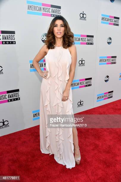 TV personality Adrianna Costa attends 2013 American Music Awards at Nokia Theatre LA Live on November 24 2013 in Los Angeles California