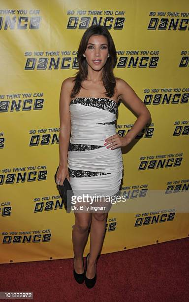TV personality Adrianna Costa attends Season 7 'So You Think You Can Dance' Premiere at Trousdale on May 27 2010 in West Hollywood California