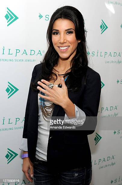 TV personality Adrianna Costa attends Silpada at Kari Feinstein's Academy Awards Style Lounge at Montage Beverly Hills on February 24 2011 in Beverly...