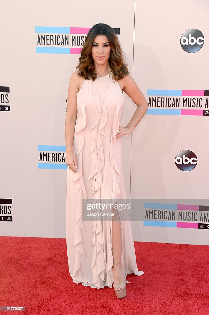 TV personality Adrianna Costa attends the 2013 American Music Awards at Nokia Theatre L.A. Live on November 24, 2013 in Los Angeles, California.