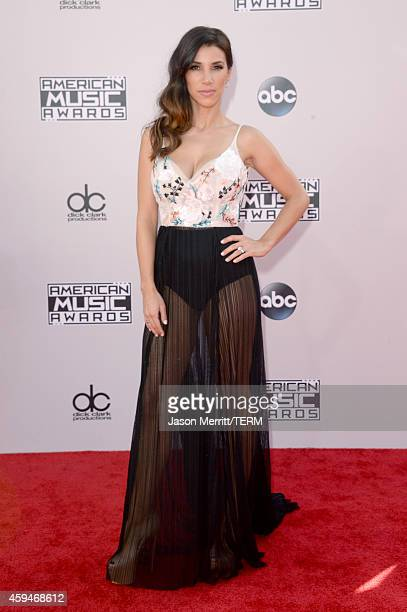 TV personality Adrianna Costa attends the 2014 American Music Awards at Nokia Theatre LA Live on November 23 2014 in Los Angeles California