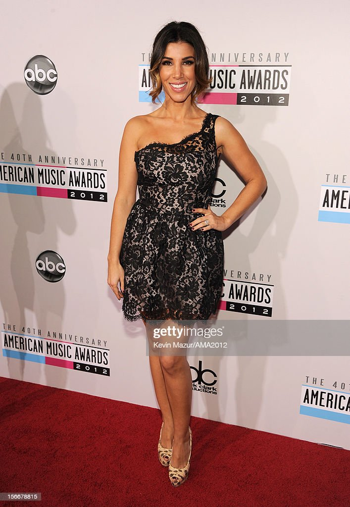 TV personality Adrianna Costa attends the 40th American Music Awards held at Nokia Theatre L.A. Live on November 18, 2012 in Los Angeles, California.