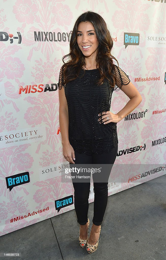 TV Personality Adrianna Costa attends the season premiere viewing party of Bravo's 'Miss Advised' hosted by Executive Producer Ashley Tisdale held at Planet Dailies & Mixology 101 on June 18, 2012 in Los Angeles, California.