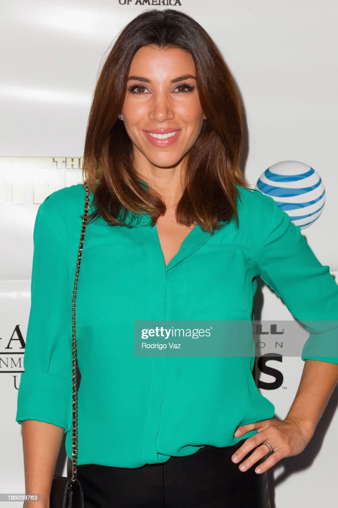 TV personality <a gi-track='captionPersonalityLinkClicked' href=/galleries/search?phrase=Adrianna+Costa&family=editorial&specificpeople=2556170 ng-click='$event.stopPropagation()'>Adrianna Costa</a> attends 'The Stream' Premiere benefiting Boys & Girls Clubs of America at Regal 14 at LA Live Downtown on October 16, 2013 in Los Angeles, California.