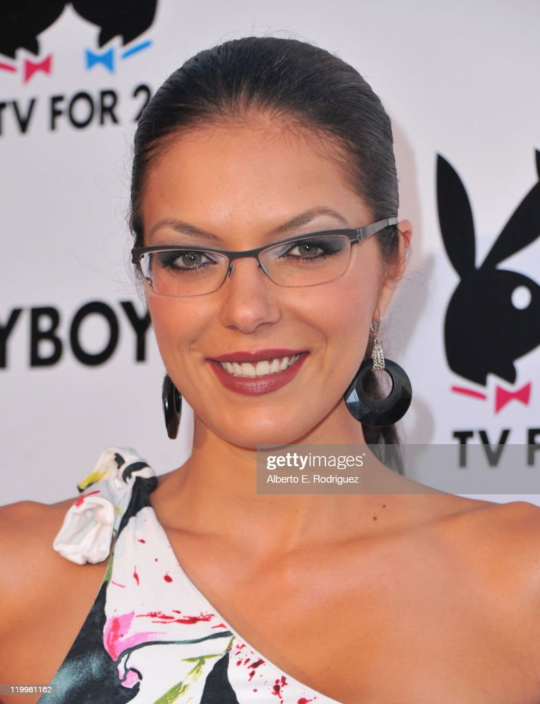 TV personality Adrianne Curry arrives to Playboy TV's 'TV for 2' 2011 TCA event on July 27, 2011 in Los Angeles, California.