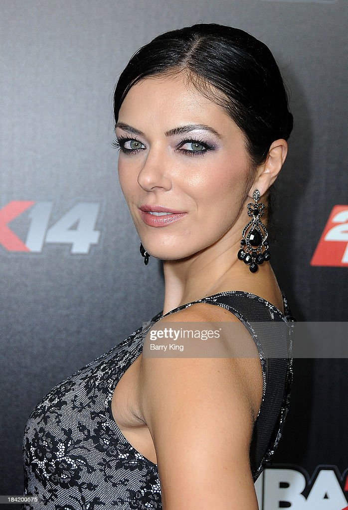 TV personality <a gi-track='captionPersonalityLinkClicked' href=/galleries/search?phrase=Adrianne+Curry&family=editorial&specificpeople=715970 ng-click='$event.stopPropagation()'>Adrianne Curry</a> attends the NBA 2K14 premiere party on September 24, 2013 at Greystone Manor Supperclub in West Hollywood, California.