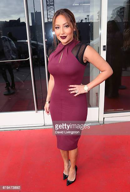 TV personality Adrienne Bailon visits Hollywood Today Live at W Hollywood on October 31 2016 in Hollywood California