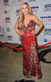 TV personality Adrienne Maloof arrives for Norby Walters' 24nd Annual Night Of 100 Stars Oscar Viewing Gala held at Beverly Hills Hotel on March 2...
