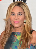 TV personality Adrienne Maloof arrives to Bravo Media's celebration of the book release of Andy Cohen's 'Most Talkative Stories From The Front Lines...