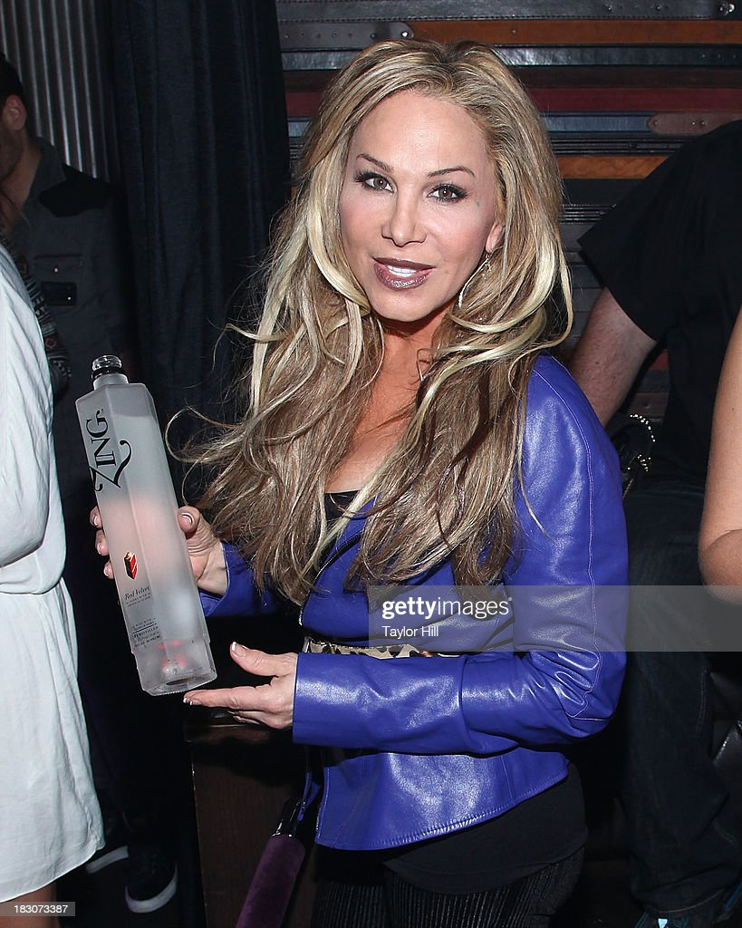 TV personality Adrienne Maloof attends Iggy Azalea's 'Change Your Life' EP Release Celebration And Performance at Marquee on October 3, 2013 in New York City.