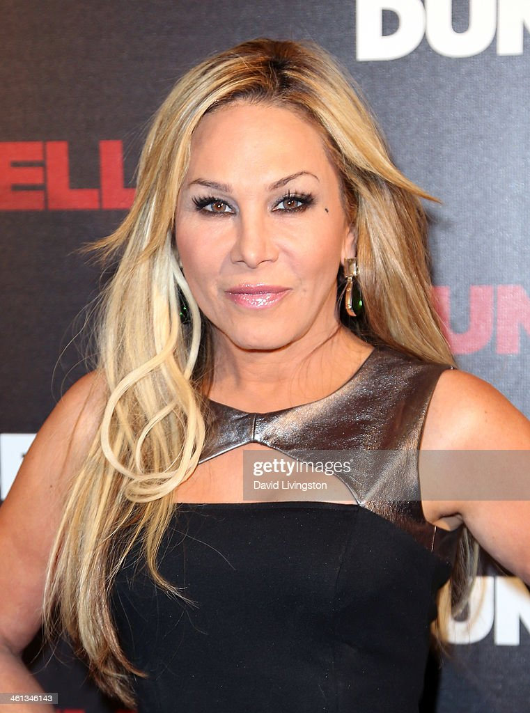 TV personality Adrienne Maloof attends the premiere of GoDigital's 'Dumbbells' at SupperClub Los Angeles on January 7, 2014 in Los Angeles, California.