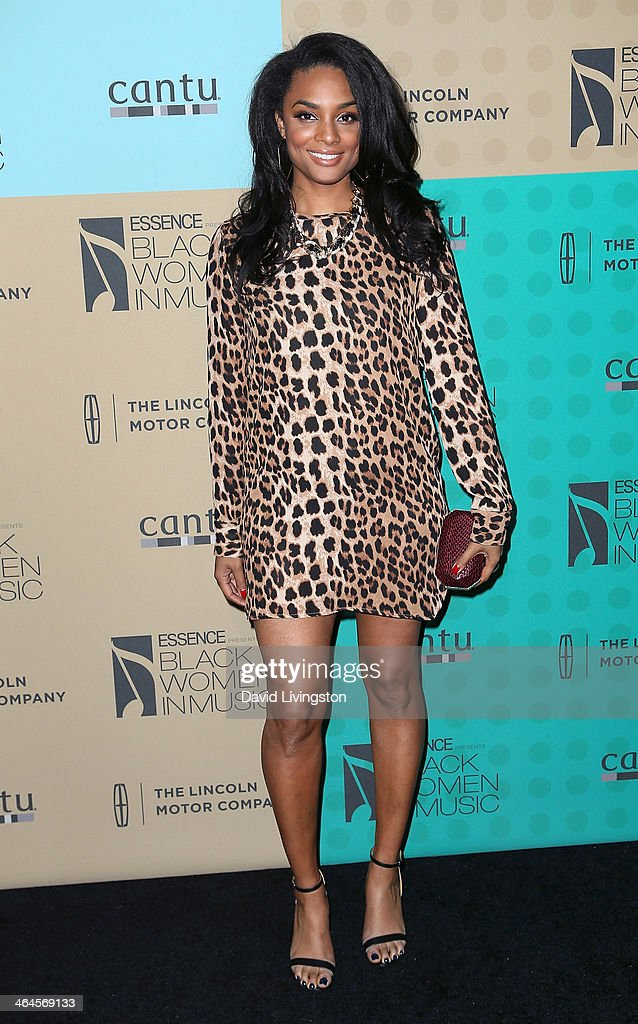 TV personality Alesha Renee attends Essence Magazine's 5th Annual Black Women in Music event at 1 OAK on January 22, 2014 in West Hollywood, California.