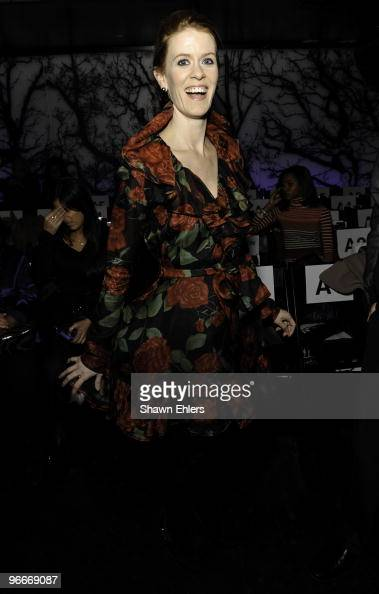 Personality Alex McCord and Simon van Kempen attend Zang Toi Fall 2010 during MercedesBenz Fashion Week at Touch on February 13 2010 in New York City