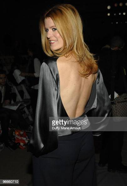 Personality Alex McCord attends Edition By Georges Chakra Fall 2010 during MercedesBenz Fashion Week at Bryant Park on February 13 2010 in New York...