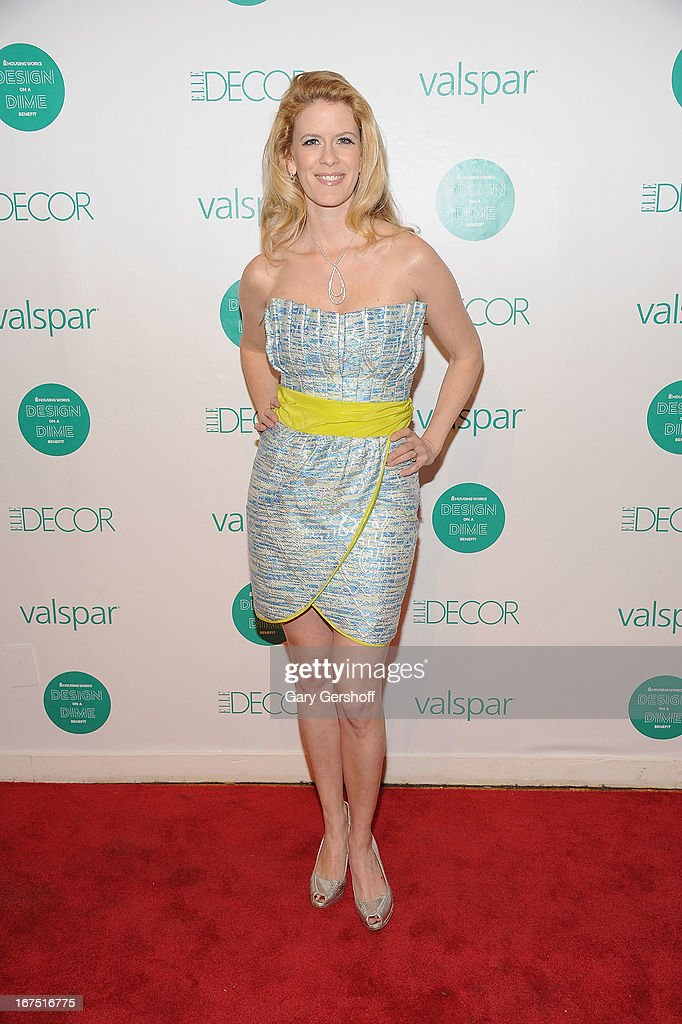 TV personality Alex McCord attends Housing Works 9th Annual Design On A Dime Benefit at Metropolitan Pavilion on April 25, 2013 in New York City.