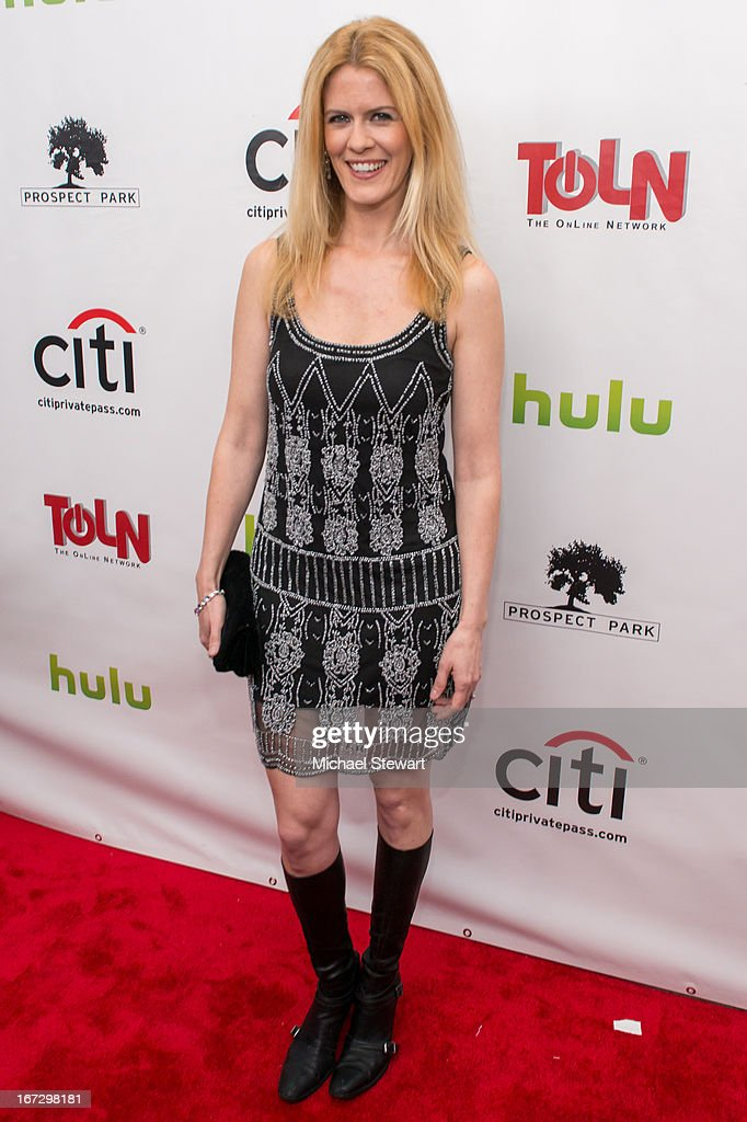 TV personality Alex McCord attends the 'All My Children' & 'One Life To Live' premiere at Jack H. Skirball Center for the Performing Arts on April 23, 2013 in New York City.