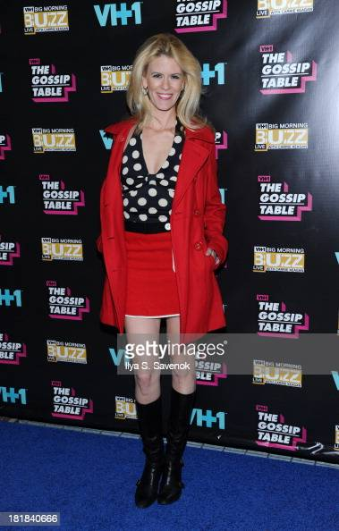 TV personality Alex McCord attends the Big Morning Buzz Live And The Gossip Table Premiere on September 25 2013 in New York City